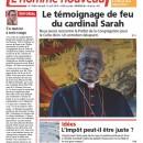 Cardenal Sarah: al pan, pan y al vino, vino.