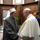 El Papa y el Gran Imán en Al Azhar